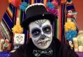 Nico de los Muertos with Pixel de los Muertos
